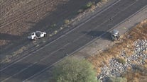 SkyFOX video of fatal head-on car crash in Buckeye
