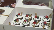Teen baker selling cupcakes to raise money for St. Mary's Food Bank