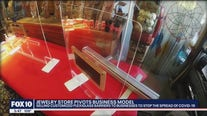 Jewelry store changes business model amid coronavirus pandemic by selling plexiglass barriers