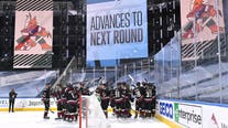 Coyotes advance in postseason with 4-3 overtime win over Predators