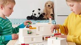 IKEA and LEGO team up to create storage boxes for bricks that kids can also play with