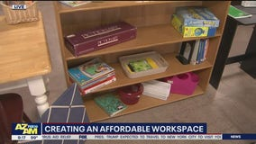 Creating an affordable workspace for kids going back to school