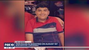 Police looking for leads in shooting that killed a Phoenix teen
