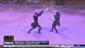 Medieval Times in Scottsdale reopens after being shut down due to COVID-19