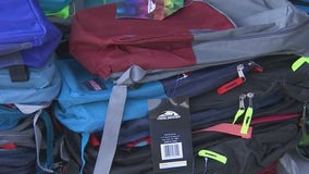 Glendale church gives away hundreds of backpacks for kids going back to school