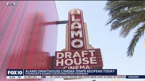 Alamo Drafthouse Cinema Tempe reopens Aug. 31