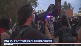 Black Lives Matter and All Lives Matter protesters clash in Gilbert