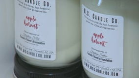 Valley woman starts candle company during quarantine
