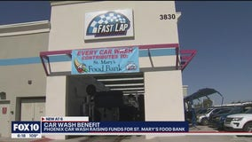 Car wash in Phoenix helps raise funds for St. Mary's Food Bank