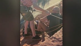 Woman hanging off 70 foot cliff rescued by Chandler PD lieutenant, Dixie State University football players