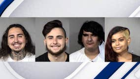 PD: 4 arrested in connection to Downtown Phoenix protest