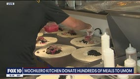 Peoria restaurant donates hundreds of meals to support homeless families