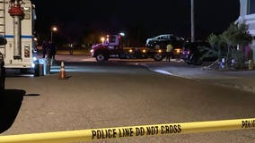 PD: Driver shot by suspect, crashes car into South Phoenix home