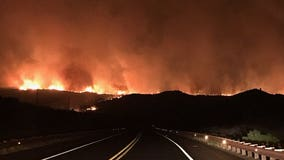 Salt Fire burns over 20,000 acres, 66% contained