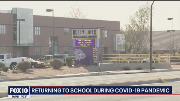 Some Queen Creek school teachers looking forward to returning to school