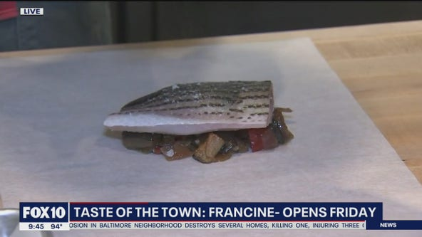 Taste of the Town: Taking a look at Francine