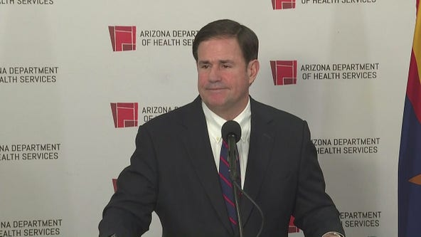 Arizona Gov. Ducey backs schools reopening without hitting virus metrics