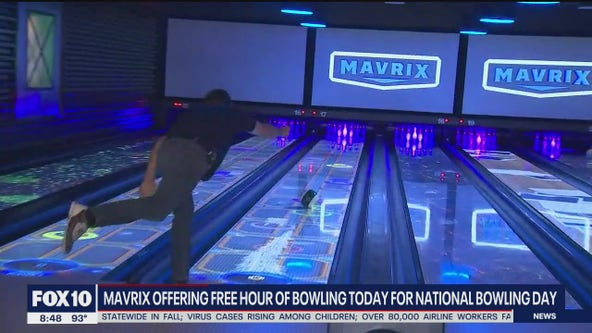National Bowling Day at Mavrix