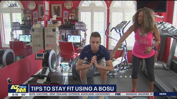 Tips for staying fit using a BOSU balance trainer