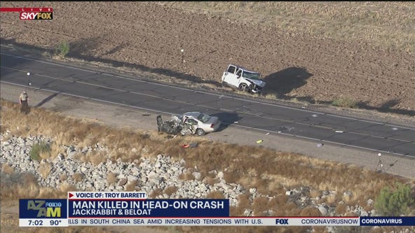 MCSO: One dead, one injured after head-on car crash in Buckeye