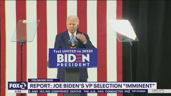 Why Joe Biden's 'imminent' running mate announcement matters more this year