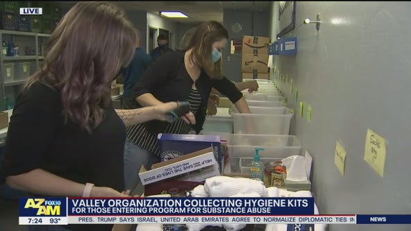 Valley organization collecting hygiene kits for recovering addicts