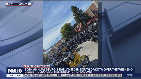 Thousands attend annual motorcycle rally in South Dakota