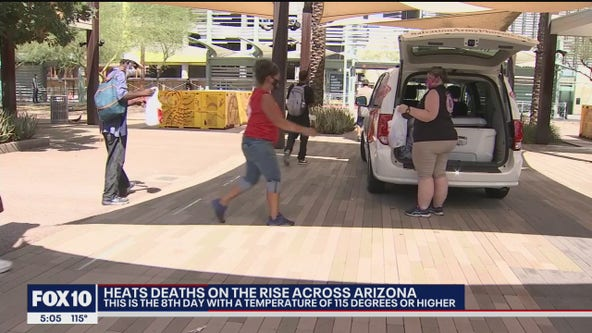 Valley groups are helping vulnerable people stay cool amid extreme heat