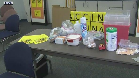 Mesa Fire holding free immunization clinic