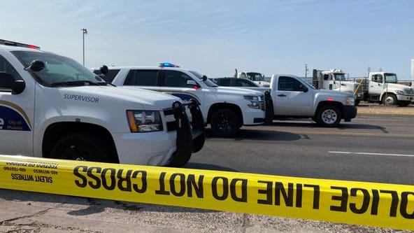 Phoenix police officer, children injured in crash