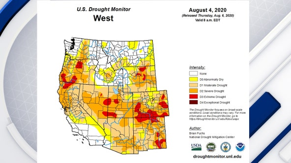 Bad drought conditions reported across New Mexico, Arizona