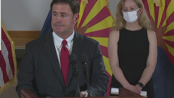 Gov. Ducey to hold news conference on coronavirus in Arizona