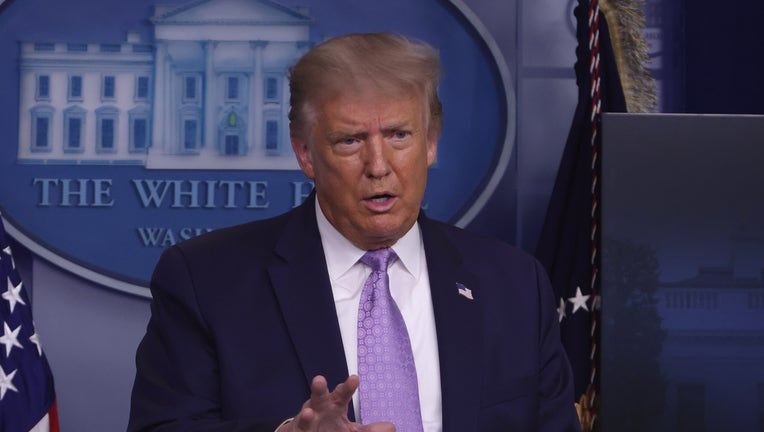 President Trump Holds News Conference In The White House Briefing Room