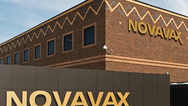 This April 28, 2009 photo shows Novavax,
