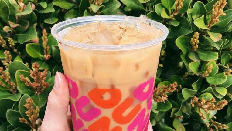 dunkin iced coffee