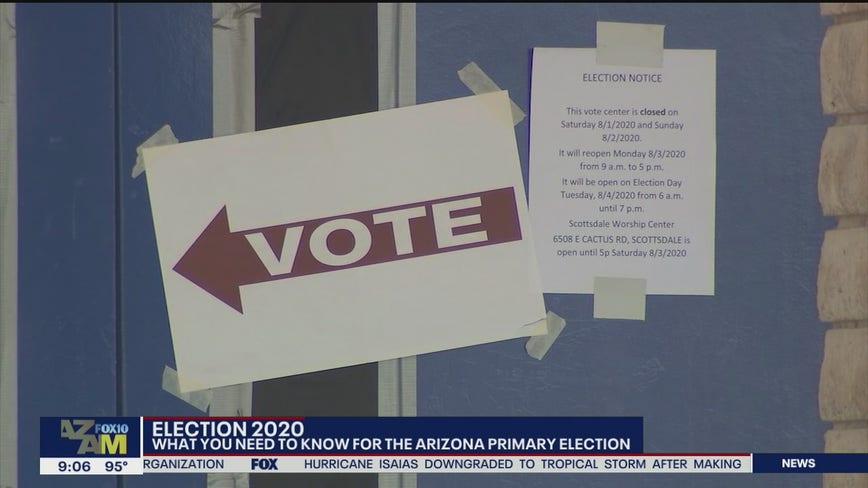 Primary voters in Arizona will find COVID-19 precautions at polls