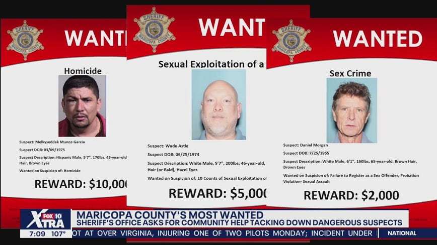 MCSO asking for help as they look for suspects on its most wanted list