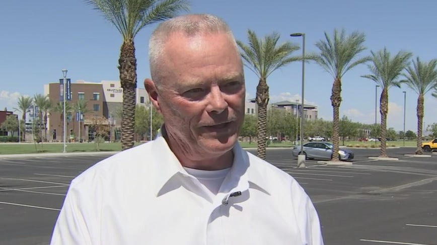 Jerry Sheridan talks upcoming Maricopa County Sheriff race against Paul Penzone