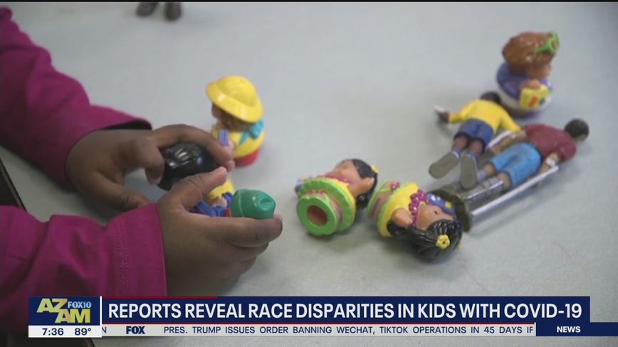 Reports reveal race disparities in kids with COVID-19