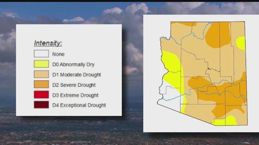 Drought conditions in Arizona getting worse thanks to dry monsoon season