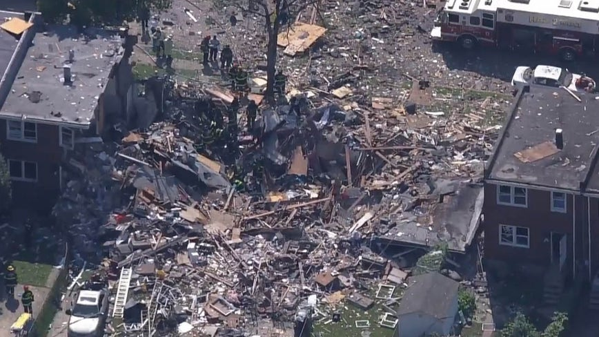 2 dead after Baltimore explosion, officials say