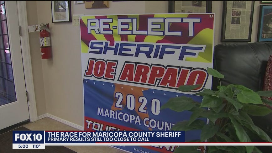 GOP primary for Maricopa County Sheriff too close to call
