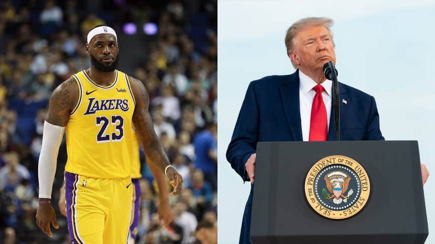 LeBron James says NBA won't be 'sad' about losing Trump as a viewer