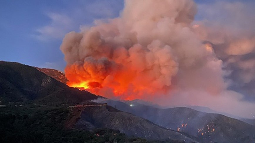 Officials release cause of Apple Fire in Cherry Valley as fire grows to over 26,000 acres