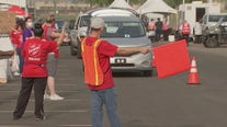 Operation Feed the Need: Salvation Army gives away food, gifts to Phoenix residents in need