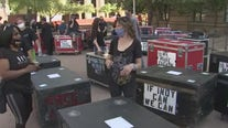 Stagehands protest, ask Ducey to allow events in Arizona again