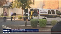 Newborn baby found dead behind strip mall