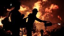 Mexico sends 100 firefighters to help battle California wildfires