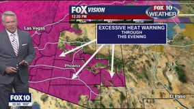 Excessive Heat Warning in effect for 11 Arizona counties