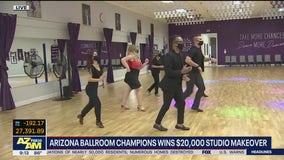 Arizona Ballroom Champions wins $20,000 studio makeover